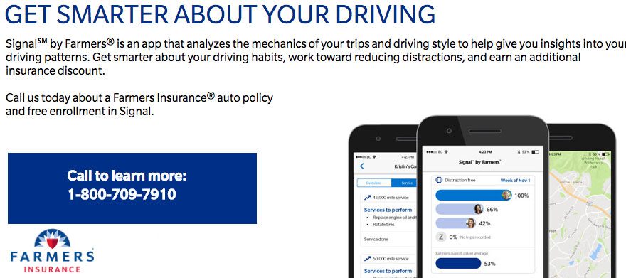 Farmers Auto Insurance >> Farmers wants drivers to get smart about their driving